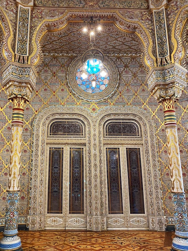 palácio da bolsa porto salão árabe