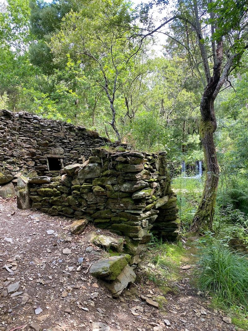 percurso quedas de agua de paredes