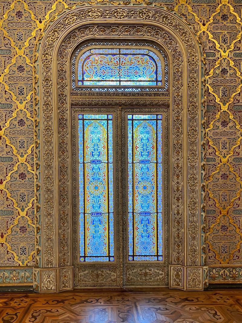 portas salão árabe