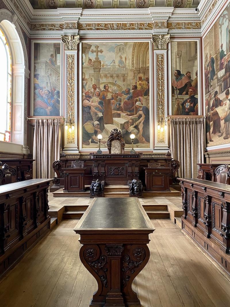 Sala do Tribunal Palácio da Bolsa