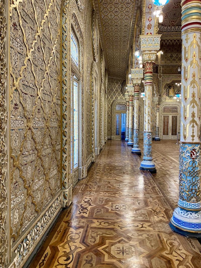salão árabe palácio da bolsa