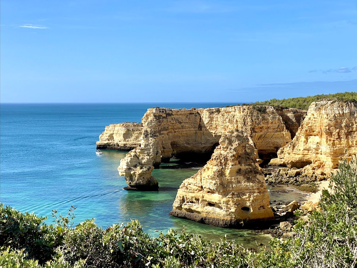 viajar para portugal algarve