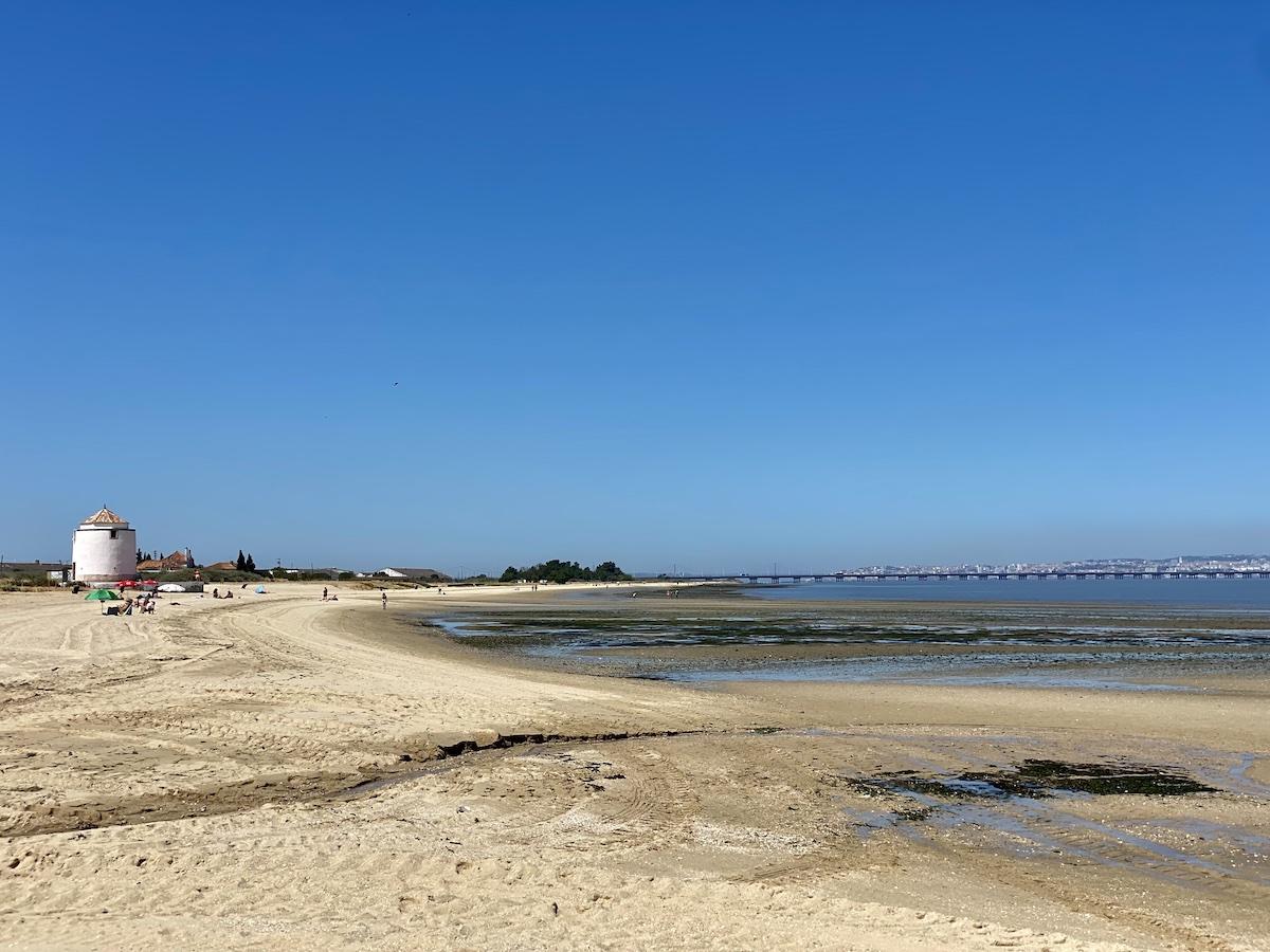 praia fluvial lisboa