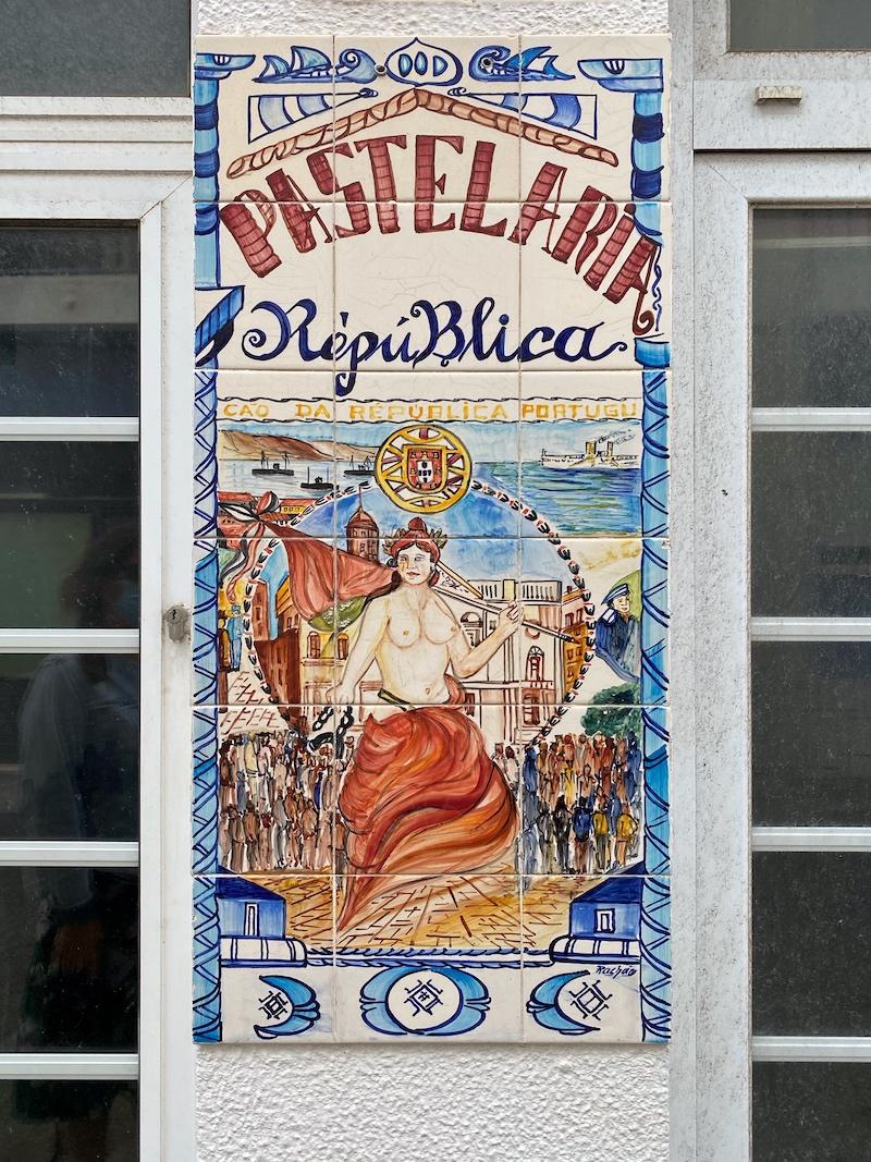 azulejos peniche Portugal