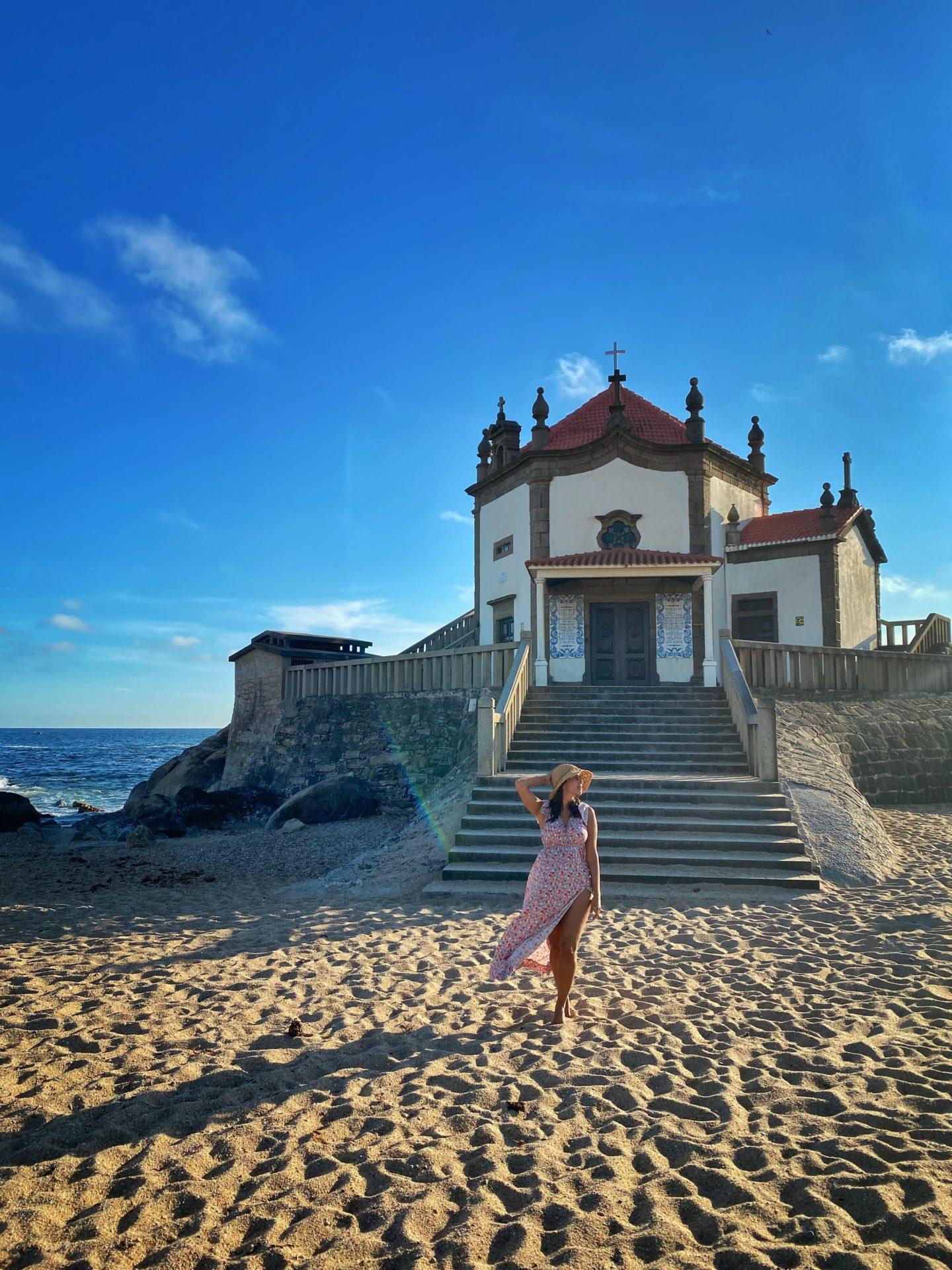 Capela mar Portugal