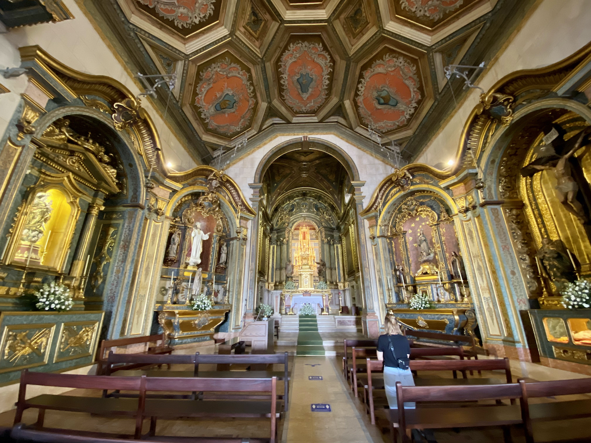 portugal ericeira igreja