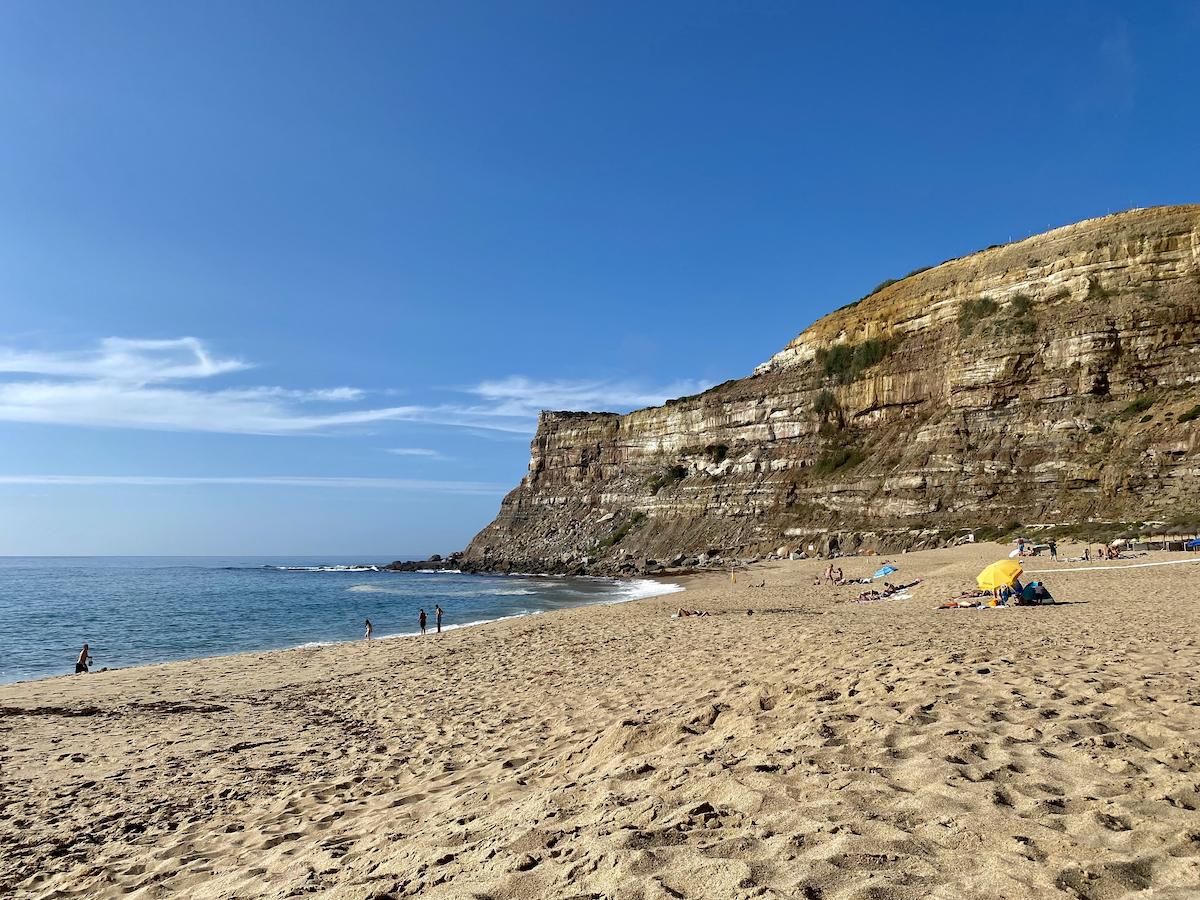 Praia calada ericeira