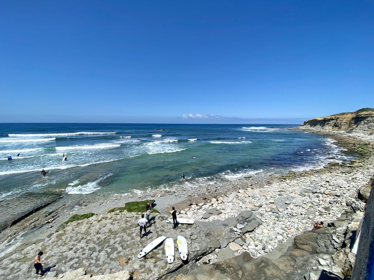 praia do matadouro ericeira