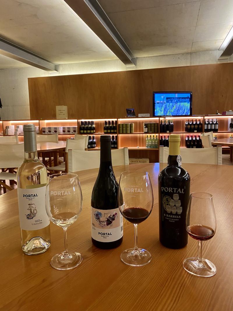 degustação vinho douro