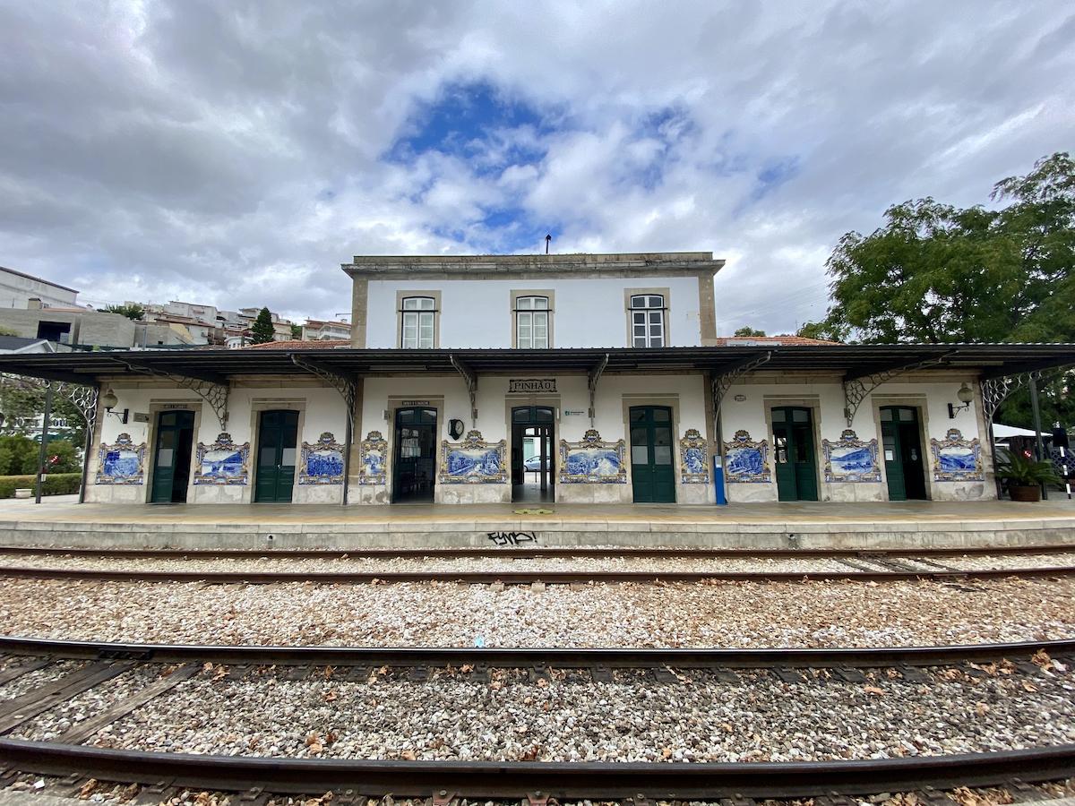 estação comboio pinhão