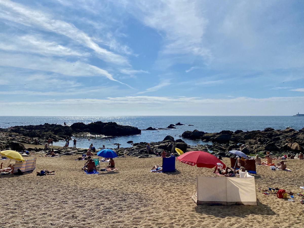 melhores praias do porto