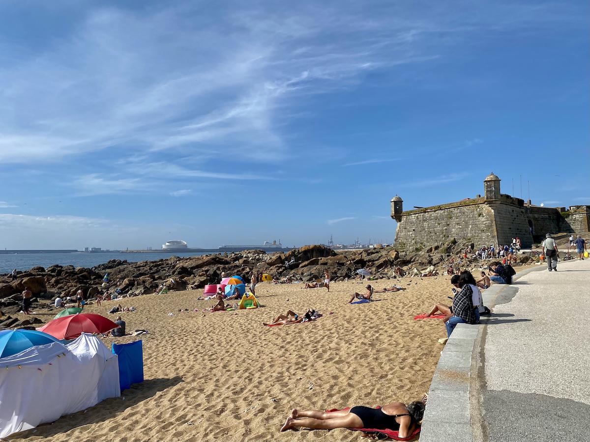 praias porto portugal